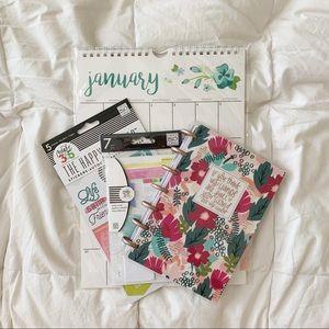 2019 Calendar and Planner Kit